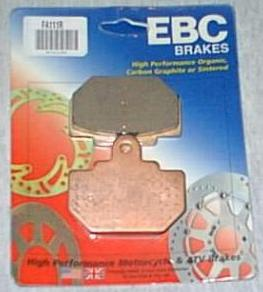 Rear Brake Pads - Click Image to Close