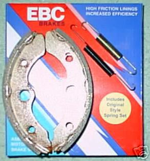 Front Brake Shoes - Click Image to Close
