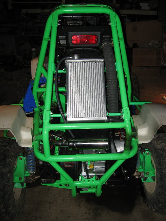 Water Cooled Head With Radiator Kit - Click Image to Close