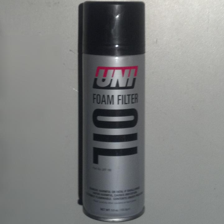 Unifilter Foam Filter Oil - Click Image to Close