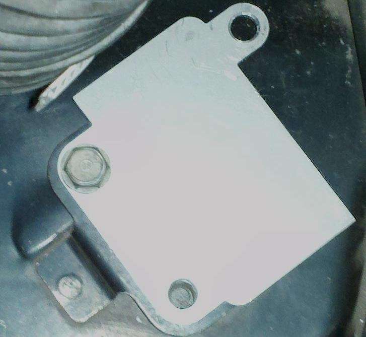 Fuel Pump Mounting Plate - Click Image to Close