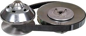 94C Comet Clutch, Driven Clutch and Belt Kit - Click Image to Close